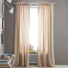 Cotton Canvas Curtains Opaque Cotton Canvas Curtains Deniz Home