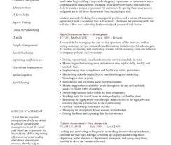 Sample Retail Manager Resume by Retail Manager Cv Template Example Retail Sales Manager Resume