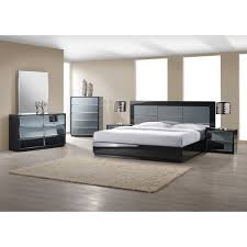 Glass Mirrored Bedroom Set Furniture Elsa Drop Table Wall Bed And Desk Factory Loversiq