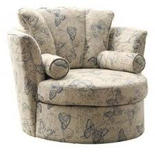 Swivel Accent Chairs by Upholstered Swivel Living Room Chairs Foter