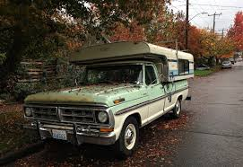 Ford Ranger With Truck Camper - seattle u0027s classics 1970 ford f250 ranger xlt camper special