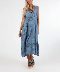 light blue sleeveless dress laklook light blue sunburst sleeveless dress women zulily