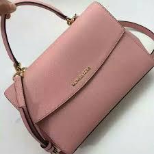 light pink michael kors handbag p o authentic michael kors med ava satchel pale pink luxury on