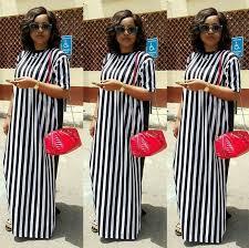 mercy aigbe stuns in a shirt dress by celebrity stylist swanky
