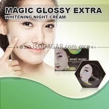 Wajah Magic Glosy magic glossy whitening isodagar