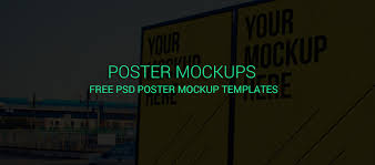 20 best free psd poster mockup templates creativecrunk