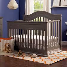 When To Convert Crib To Toddler Rail Davinci Brook 4 In 1 Convertible Crib With Toddler Rail Conversion