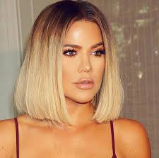 khloé kardashian debuts short lob the 25 best khloe kardashian hair short ideas on pinterest