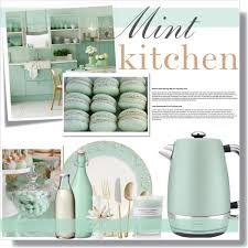 Design Kitchen Accessories Related Image Lilac U0026 Mint Kitchen Pinterest Green Kitchen