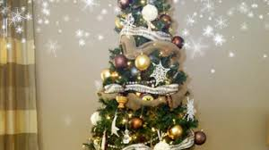 new christmas tree decorationg ideas burlap youtube