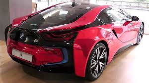 red bmw stunning chrome red bmw i8 youtube