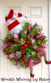 christmas wreath card holder christmas lights decoration