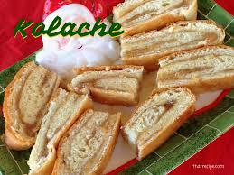 kolache sweet nut roll