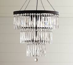 Camilla Chandelier Pottery Barn Adele Crystal Large Chandelier Pottery Barn Lighting