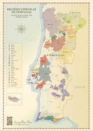 Wine Map Of France by Portugal Wine Regions Maps Cellartours