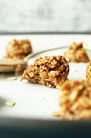 Almond U0026 Coconut Bars Coconut Snack Bars Kind Snacks by Almond Butter No Bake Cookies Minimalist Baker Recipes