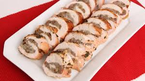 roasted stuffed turkey breast recipe vitale in the