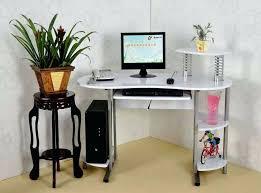 Small Metal Computer Desk Silver Computer Desk Juniorderby Me