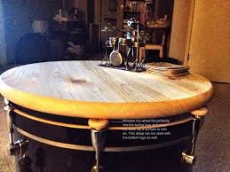 drum table for sale coffee table drum coffee table white wash tables native american