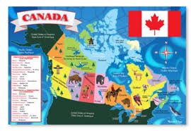 Canada On A Map by Jay Wilson On Twitter