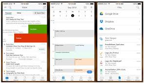 android outlook app microsoft corporation brings outlook to ios and android