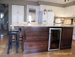 Kitchen Island With Bookshelf Remodelaholic Budget Friendly Board And Batten Kitchen Island