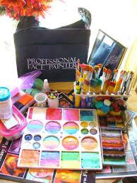 professional face painter bag