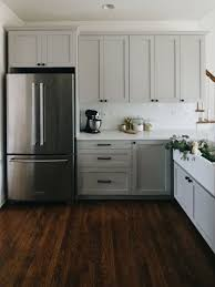 solid wood kitchen cabinets ikea grey solid wood cabinet with deep brown laminate floor for elegant