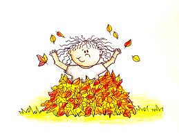 fun2draw thanksgiving drawing lesson how to draw a kid playing in leaves youtube