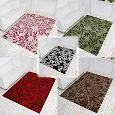 teppiche design kurzflor design teppich curl mit kringel muster teppiche design