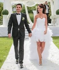 robe mariã e sur mesure robe de mariée fee clochette avec sa jupe modulable courte pour le