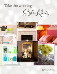 wedding style quiz what u0027s your wedding style find out now