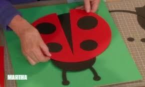 Ladybug Kitchen Decor Video Ladybug Artwork Martha Stewart