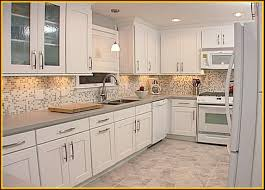 Idea For Kitchen by Kitchen Idea Beautiful White Glass Tiles Backsplash Kitchen Ideas