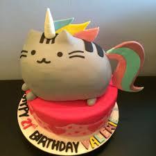 rainbow unicorn pusheen cake crissa u0027s cake corner home