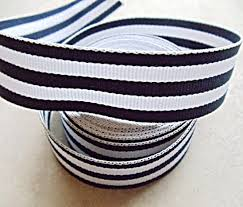 navy and white striped ribbon maggie sottero chalkboard signs cake server set cupcake towers