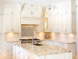 Kitchen Design Ideas White Cabinets White Kitchen Cabinets With Delicatus Granite Countertops Home