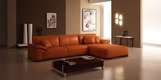Square Living Room Table by White Leather Sectional Sofa Design For Modern Living Room Ideas