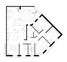 gallery of apartment and courtyard in barcelona cavaa new floor plan