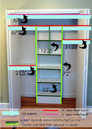 How To Build Closet Shelves Clothes Rods by Best 25 Closet Shelving Ideas On Pinterest Small Master Closet