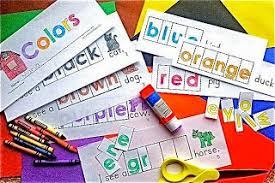 making color words fun freebie