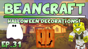 halloween decorations beancraft s2 ep 31 youtube