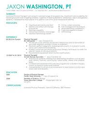 occupational therapy resume template billybullock us