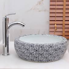 Blanco Supreme 533 U by Blue And White Vessel Sink Befon For