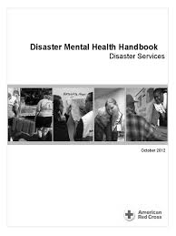 disaster mental health handbook oct 2012 american red cross