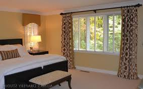 Bedroom Window Valance Ideas Also Wall Mounted Burly Wood Lounge - Bedroom window valance ideas