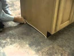 ivc flooring lay installation