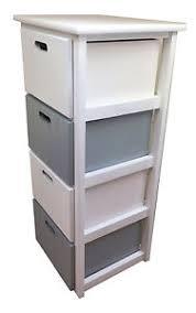 White Wood Free Standing Bathroom Storage Cabinet Unit by Wooden White Grey 4 Drawer Bathroom Storage Cupboard Cabinet Unit