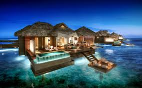 overwater bungalows in the caribbean luxury to rival the maldives