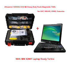 volvo heavy truck allscanner vxdiag vcx hd heavy duty truck diagnostic tool for cat